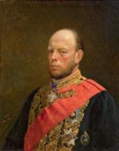 NIKOLAI GHE. PORTRAIT OF THE MINISTER OF FINANCE MIKHAIL REITERN. 1873