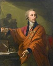 JOHANN BAPTIST VON LAMPI. PORTRAIT OF COUNT ALEXEI MUSIN-PUSHKIN. 1794
