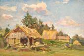 PORFIRY KRYLOV. LANDSCAPE. 1938