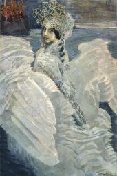 MIKHAIL VRUBEL. THE SWAN PRINCESS. 1900