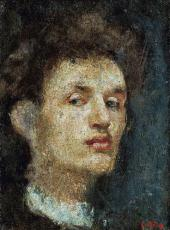 SELF-PORTRAIT. 1886