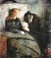 THE SICK CHILD. 1896