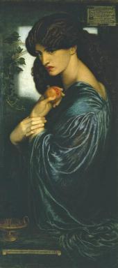 DANTE GABRIEL ROSSETTI. PROSERPINA. 1874