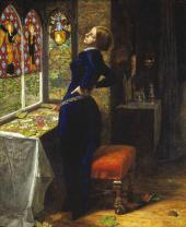 JOHN EVERETT MILLAIS. MARIANA. 1850-1851