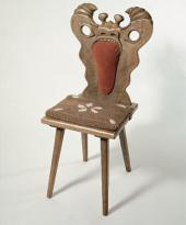 GINGERBREAD MONSTER CHAIR. 1967