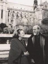 ALEXEI AND KARINA SHMARINOV. Paris. 2000. Photo