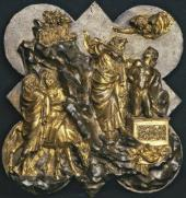 LORENZO GHIBERTI (1378/1381-1455). THE SACRIFICE OF ISAAC. 1401