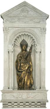 DONATELLO (DONATO DI NICCOLO DI BETTO BARDI, C. 1386-1466). ST. LOUIS OF TOULOUS