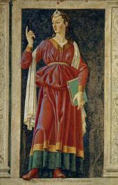 ANDREA DEL CASTAGNO (ANDREA DI BARTOLO, BEFORE 1419-1457). CUMAEAN SYBIL . 1448