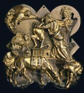 FILIPPO BRUNELLESCHI (1377-1446). THE SACRIFICE OF ISAAC. 1401