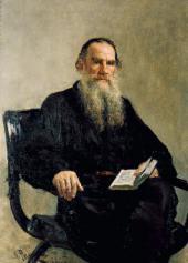 Ilya REPIN. Portrait of Leo Tolstoy. 1887