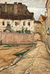stislav DOBUZHINSKY. Vilno. Lane. 1906