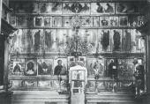 ICONOSTASIS OF THE TRINITY. CATHEDRAL AT THE TRINITYST. SERGIUS MONASTERY