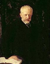 Nikolai KUZNETSOV. Portrait of Pyotr Ilich Tchaikovsky. 1893