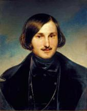 Fyodor MOLLER. Portrait of Nikolai Gogol. Early 1840s