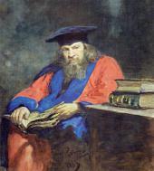 Ilya REPIN. Portrait of Dmitry Mendeleev. 1885