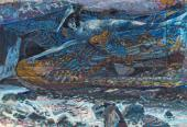 Mikhail VRUBEL. Demon Downcast. 1901