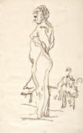Valentin SEROV. Standing Model. 1910-1911