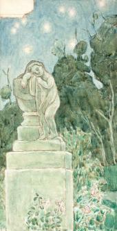 Viktor BORISOVMUSATOV. Dream of Deity. 1904-1905