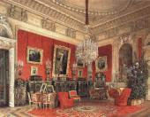 LUIGI PREMAZZI (1814-1891). INTERIORS OF THE WINTER PALACE: THE STUDY OF EMPRESS