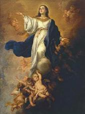 BARTOLOME ESTEBAN MURILLO (1617-1682). THE IMMACULATE CONCEPTION. c. 1680