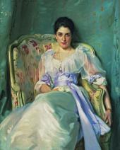 JOHN SINGER SARGENT. LADY AGNEW DE LOCHNAW. 1892