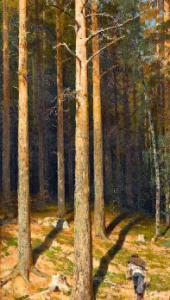 Ivan SHISHKIN. A Pine Forest. 1878