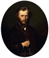 Vasily PEROV. Portrait of Nikolai Lanin. 1869