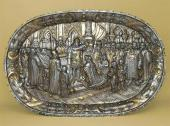 "THE PLATE ""CORONATION OF CATHERINE I"". Moscow, 1724–1727"