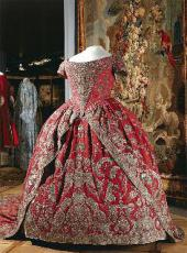 CORONATION DRESS OF EMPRESS CATHERINE I. Russia, 1724