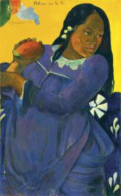PAUL GAUGUIN. VAHINE NO TE VI (WOMAN OF THE MANGO), 1892