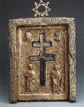 """FILOFEEVSKAYA STAVROTEKA"" (THE RELIC ""THE HONEST AND LIFE-GIVING CROSS FROM PAT"