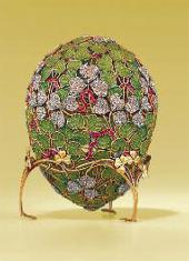 "THE ""CLOVER"" EGG. St. Petersburg, 1902. FABERGE. BY N.PERKHIP"