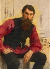 Ilya REPIN. Coachman. Study. 1911