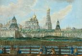 FRANCESCO CAMPORESI. A VIEW OF THE KREMLIN FROM ZAMOSKVORECHYE IN FOUR DRAWINGS.