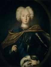 UNKNOWN ARTIST. PORTRAIT OF EMPEROR PETER II. FIRST HALF OF THE 18TH CENTURY