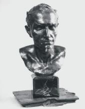 MEPHISTOPHELES. 1877. Bronze. H = 41 cm