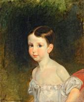 Portrait of Countess Wittgenstein as a Child. 1830s