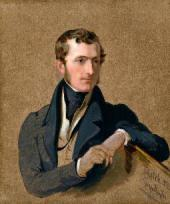 Sir George HAYTER. Philip Stanhope, 5th Earl Stanhope. 1834