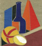 STILL-LIFE WITH A BALL. 1922