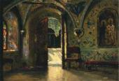 VASILY POLENOV. EXIT FROM THE CHAMBERS TO THE GOLDEN PORCH. 1877