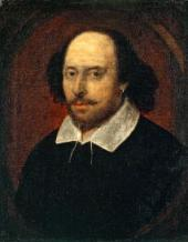 Attributed to John TAYLOR. William Shakespeare. c. 1610