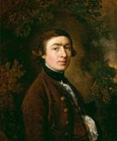 Thomas GAINSBOROUGH. Self-portrait. c. 1758-1759