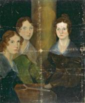Patrick Branwell BRONTE. The Brontë Sisters (Anne, Emily, Charlotte Brontë)