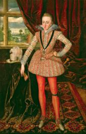 Robert PEAKE the Elder Henry, Prince of Wales. c. 1610