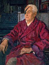 Andrei GORSKY. Portrait of Mikhail Kurilko. 1952