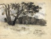 Isaac LEVITAN. Bogorodskoe Village. 1898