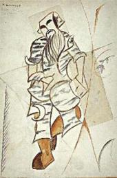 MIKHAIL LARIONOV. LESHY (FOREST DEMON) SKETCH OF THE COSTUME FOR ANATOLY LYADOV'