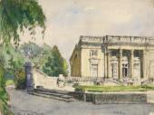 Alexandre BENOIS. The Petit Trianon. 1920s