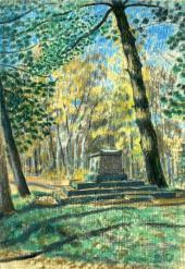 Viktor BORISOV-MUSATOV. In the Shade of the Pine Trees. 1904